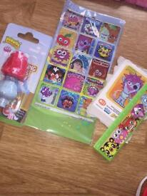 Moshi monsters stationary