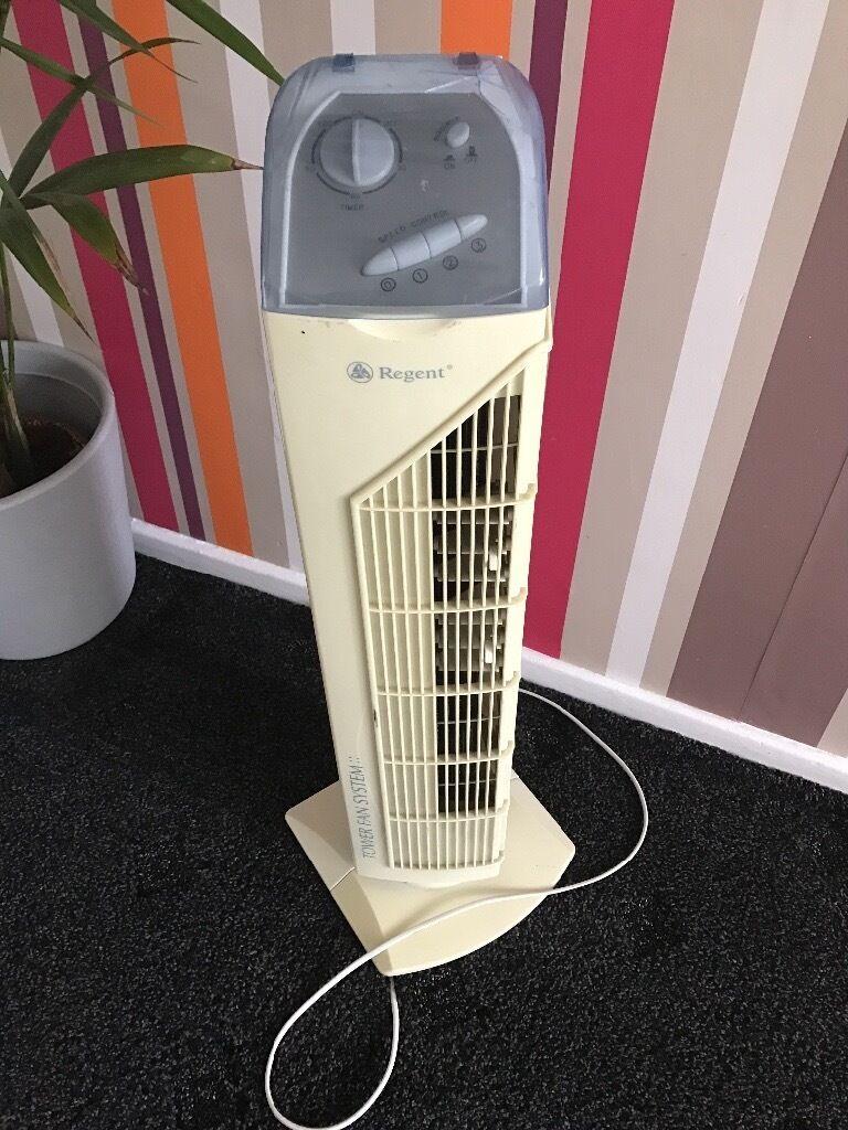 Regent tower fan system