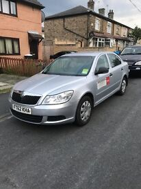 Late Dec 2012 Skoda Octavia Leeds private hire plated ready for work