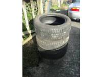 Set of 195/55/15 Part Worn Tyres