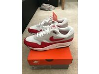 buy popular 5f12c f43d1 Nike air max 1 30th anniversary uk 9 red white