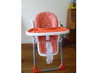 High Chair - Babystart Dotti Highchair