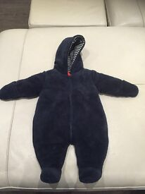 MAMAS AND PAPAS SNOWSUIT new without tags