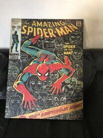 Spider-Man canvas