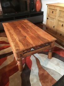Solid wood sturdy Coffee Table for sale