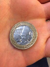 2 pound coin Brunel