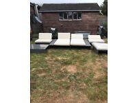 Garden seating furniture