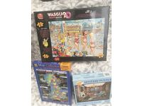 Assortment of 1000 Piece Puzzles