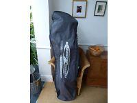 Snowboard & Bindings: Burton (+Rhino carrybag)