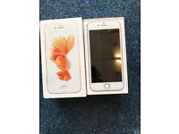 IPhone 6s 16gb rose gold unlocked