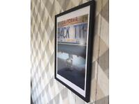 Back To The Future Framed Movie Poster Print Art