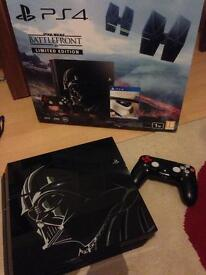 Ps4 Playstation 4 star wars limited edition