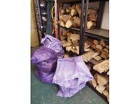Logs for woodburner