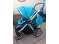 Double pram oyster max