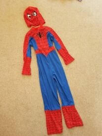 Spiderman dressing up outfit 7-8yrs