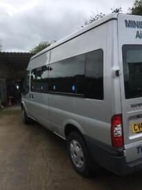Ford transit minibus 2013