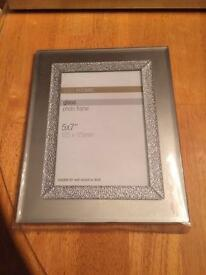 Silver Marks and Spencer photo frame