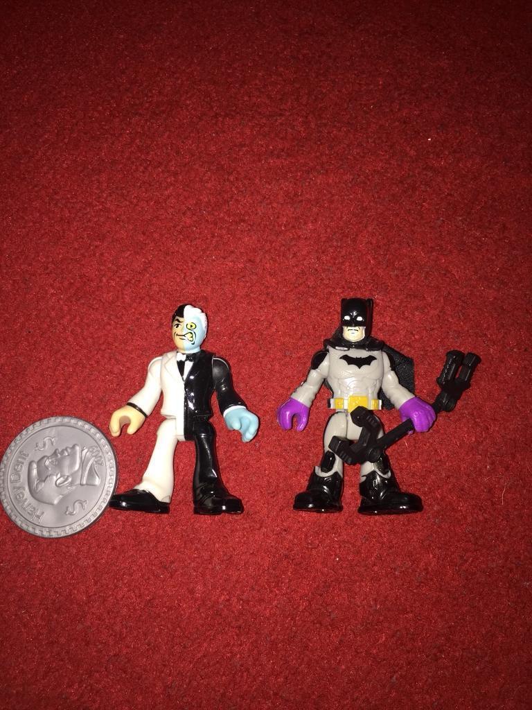 Imaginext Batman 2 Face And Duo