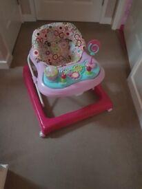 Baby walker in good condition