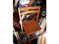 Wooden Chairs Garden or Indoor