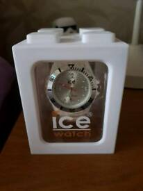 White ice watch