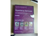 Computer PC Canon Experience Seminars your EOS adventure starts here Intermediate Pack