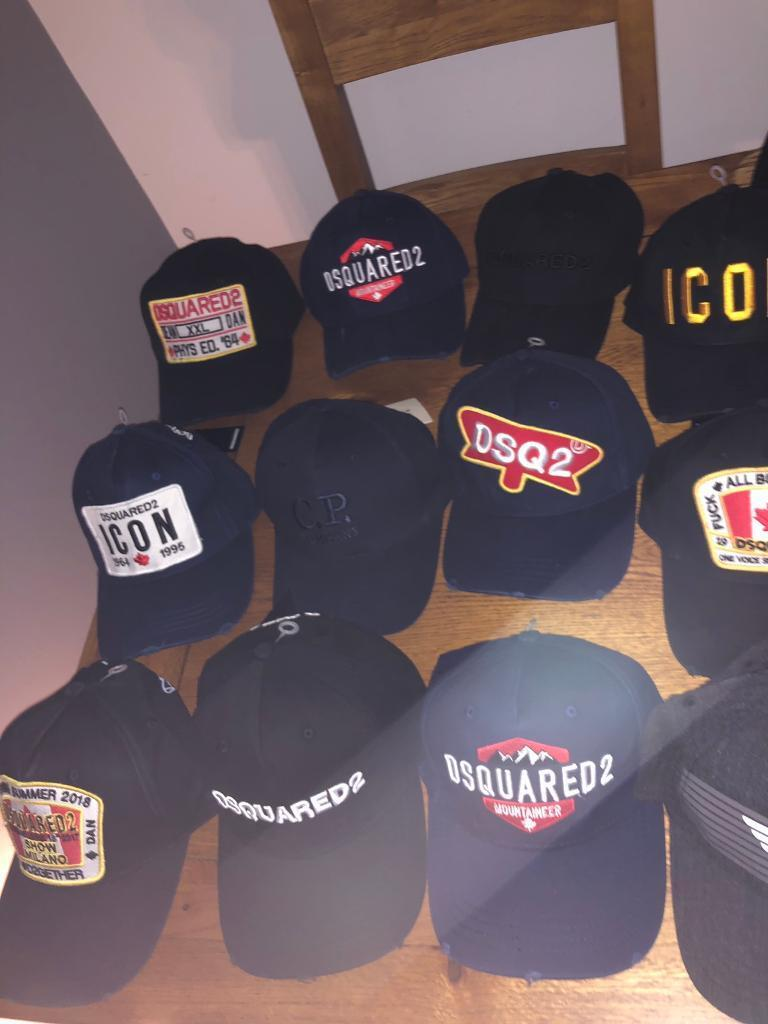2351b5e7 Dsquared and CP Company Hats BRAND NEW | in Buckinghamshire ...
