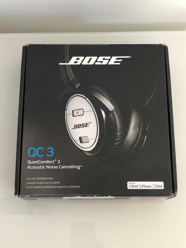 c93b24406bd Bose QuietComfort 3 noise cancelling headphones | in Southend-on ...