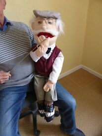 """Grandad"" 28"" Full Body Puppet - great for charity fundraising"