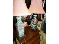 2 TABLE LAMPS £5 each cash & collect.