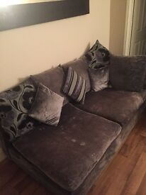right/left corner sofa very good condition or just as good two separate sofas