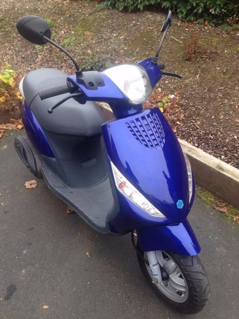 piaggio zip 12 month mot 2 keys moped scooter 50cc 49cc not aerox