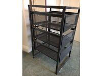 MINI IKEA METAL FILING CABINET DRAWERS