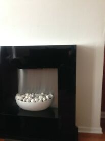 Black gloss fire suite