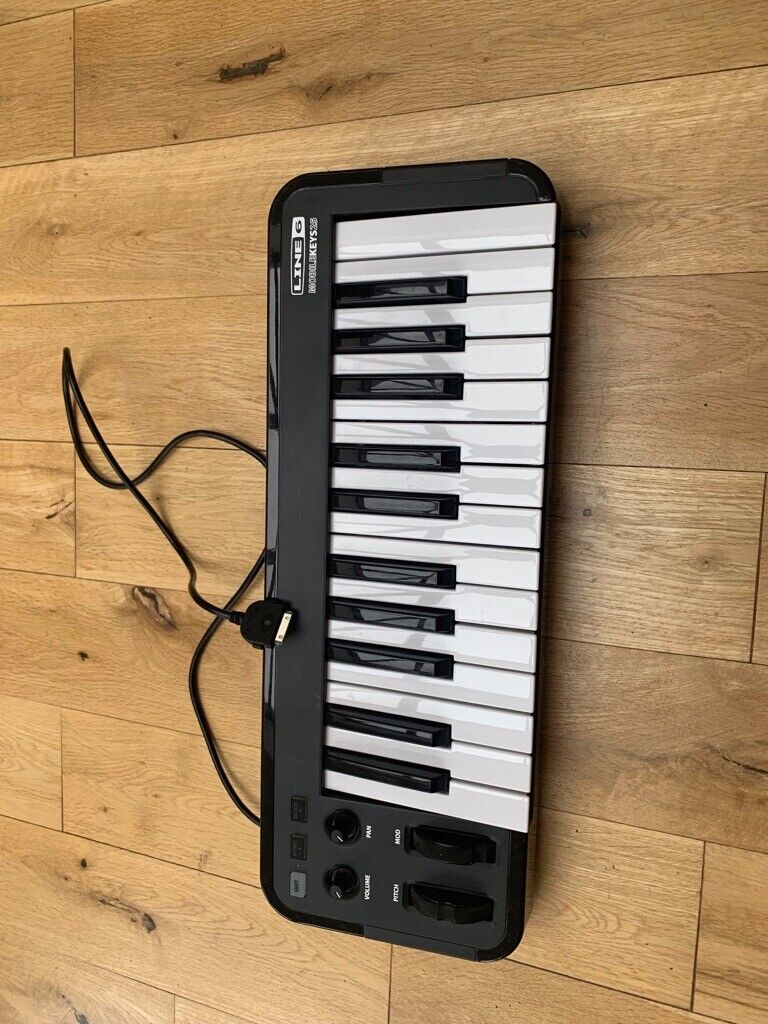 LINE 6 MOBILE KEYS 25 Master keyboards 25/49 Keys - or Mac, PC and iOS  devices | in Moortown, West Yorkshire | Gumtree
