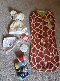 Swaddle blanket and more...