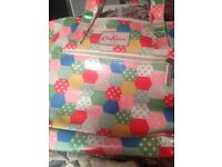 Cath kidston oilskin bag excellent condition ono