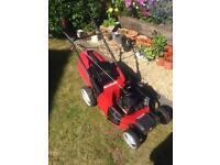 Self propelled petrol lawnmower with a Briggs and Stratton engine. Fully serviced mower