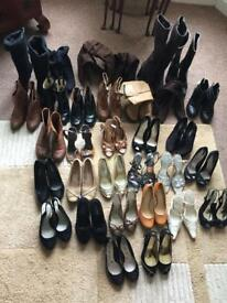 Bundle job lot of ladies women's shoes and boots size 5 and 5.5