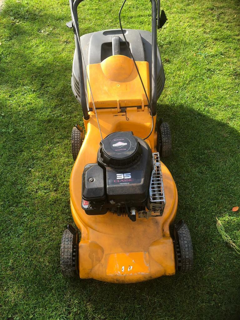 Partner petrol lawnmower with Briggs and Stratton Engine | in Birmingham,  West Midlands | Gumtree