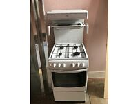 Free standing Gas Cooker with hob