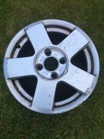 15 inch alloy wheel