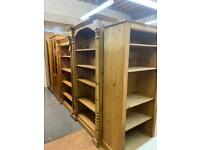 Quality used bookcase, display cabinet & Welsh dressers, local and national delivery available