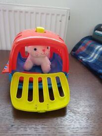 My first stroller