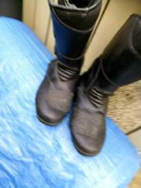 Motorbike, Motorcycle Boots Size 8 / 42