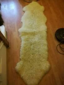 Sheepskin rug NOW SOLD