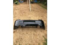 Vw golf mk4 R32 rear bumper black LC9Z