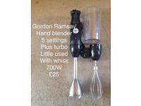 Gordon Ramsay 6 speed hand blender