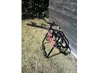 2 Bike Cycle Carrier For Spare Wheel On 4 x 4