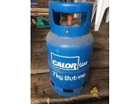 EMPTY Calor Gas Bottle Butane EMPTY 7Kg